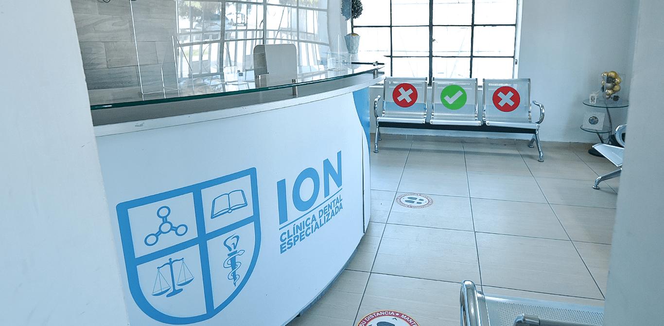Universidad ION - Sala de recepción en Clínica Dental de Posgrados