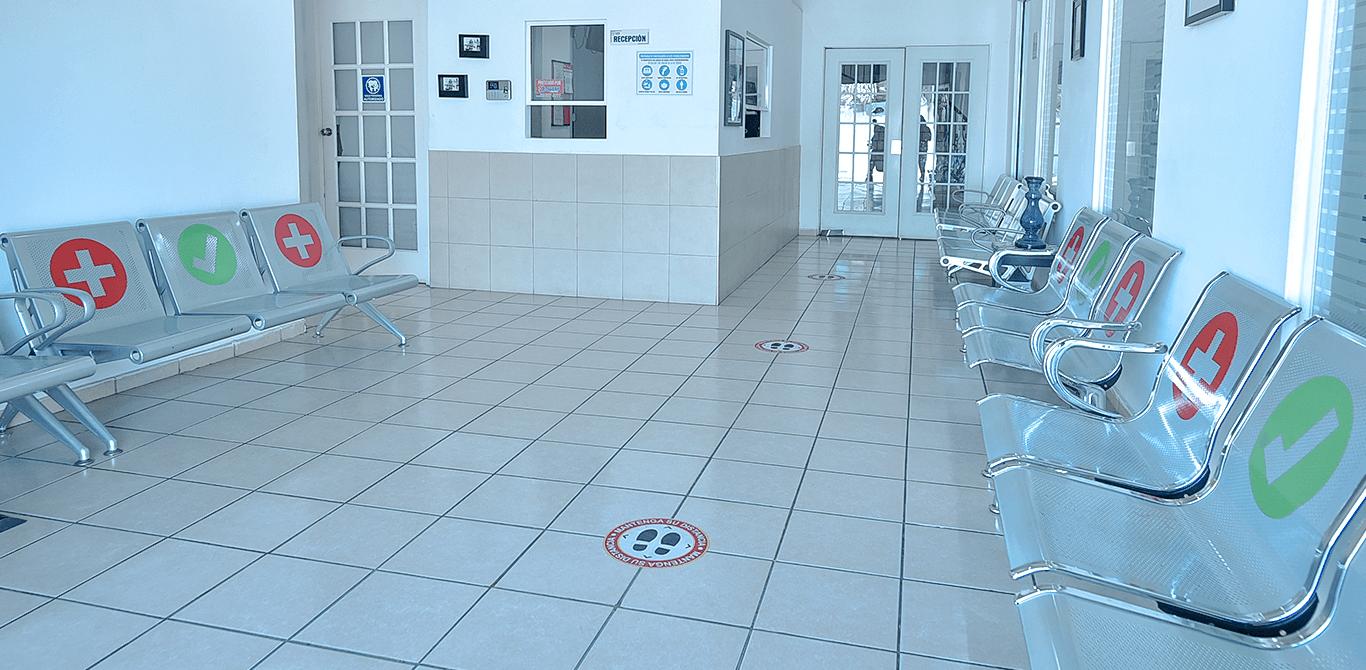 Universidad ION - Sala de recepción en Clínica Dental Universitaria