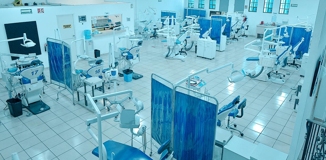Universidad ION - Área clínica en nuestra Clínica Dental Universitaria