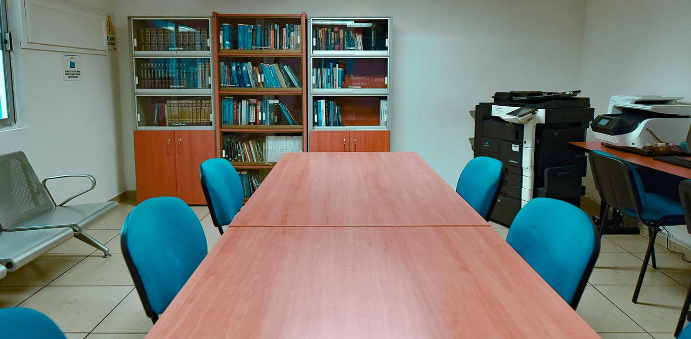 Universidad ION - Biblioteca y sala de medios